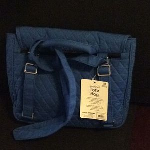 3 in 1 Universal Tote Bag. Cobalt Blue. NWT.